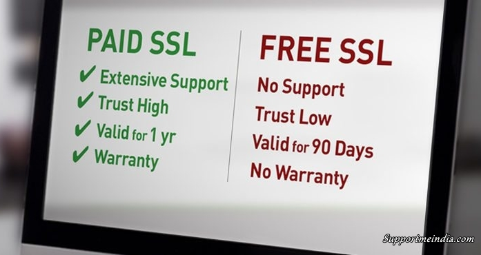 Free SSL vs Paid SSL Differencts