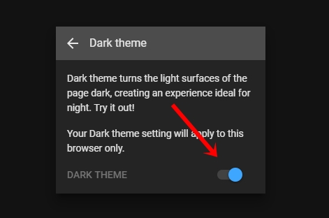 disable youtube dark theme
