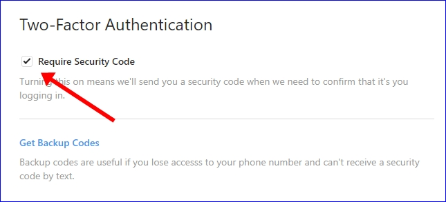 Disable Instagram Two-Factor Authentication 2