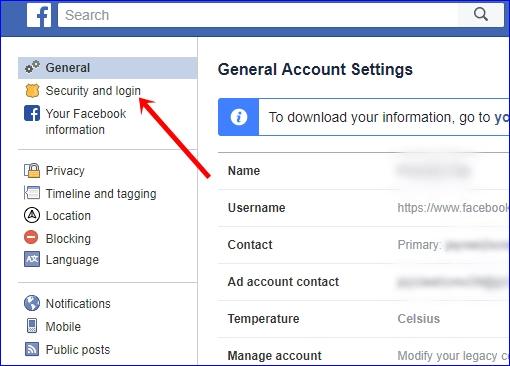 Facebook 2 step verification 2