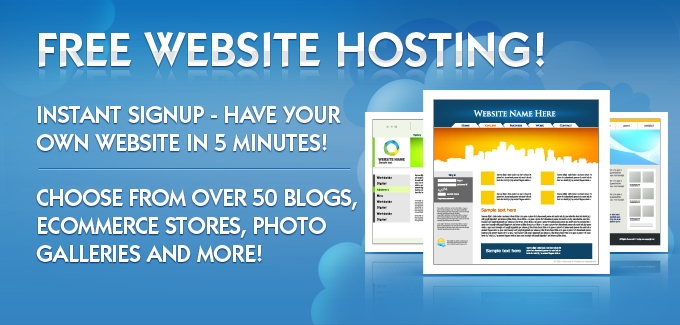 Free website hosting