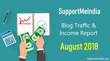 Traffic and Income Report August 2018