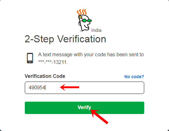 godaddy account login verification