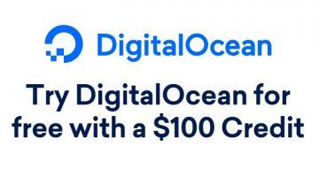 DigitalOcean Cloud Hosting - Get $100 Free Credit