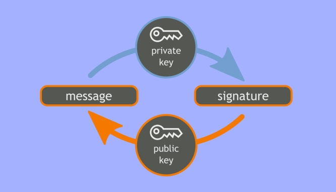 Digital signature working process