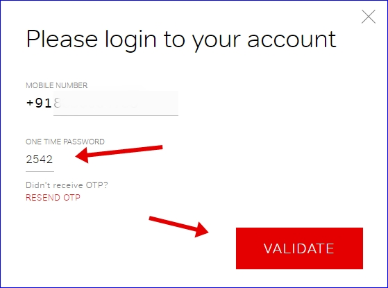 Airtel dnd login account