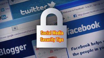Social Media Security Tips