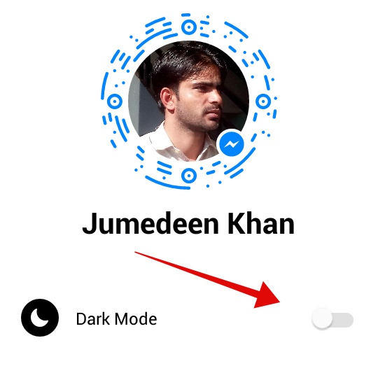 Enable Messenger Dark Mode