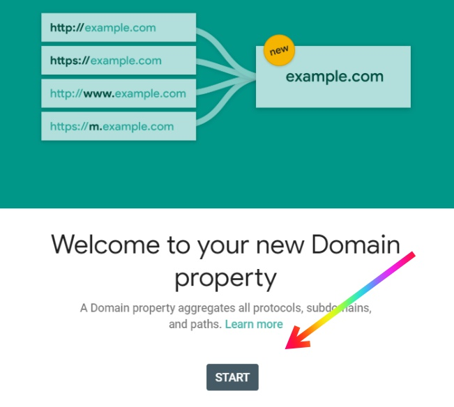 Welcome to your New Domain Property