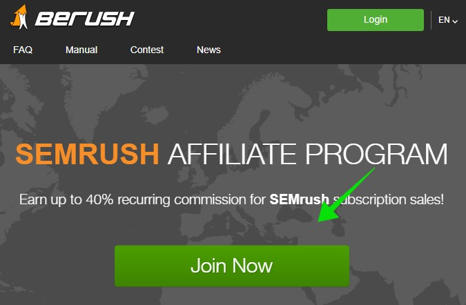 Register for BeRush