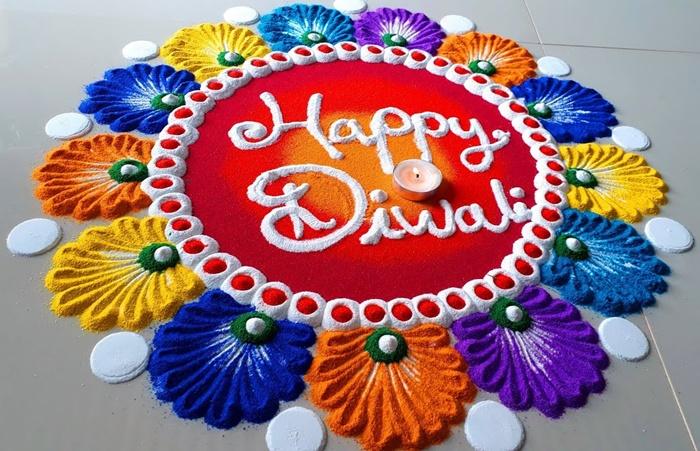 Beautiful Happy Diwali Rangoli Designs