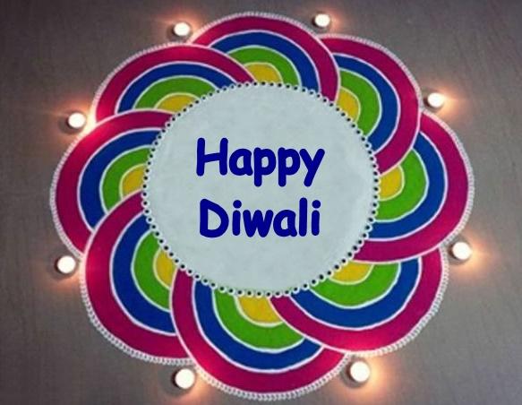 Happy Diwali Rangoli Design