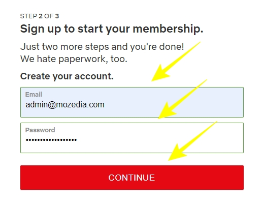 Sign up to start your membership