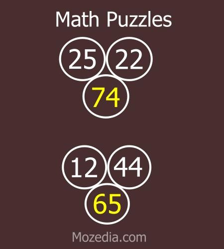 Math puzzles for genius