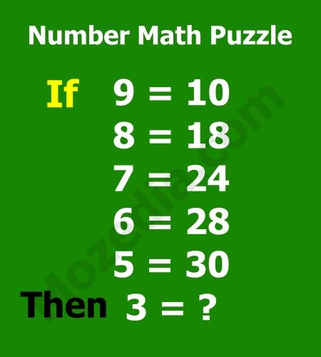 Math puzzles images