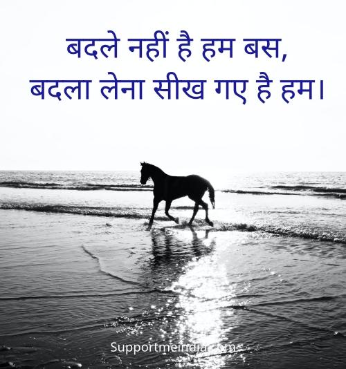 badle nahi hai hum status