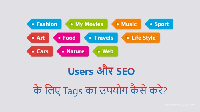 Use tags properly for users and SEO