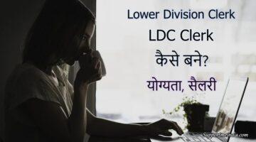 LDC Clerk kaise bane