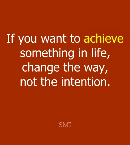 Thought of the day for success in life