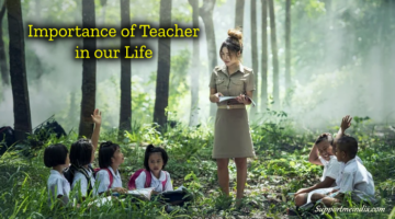 Importance of Teacher in our Life